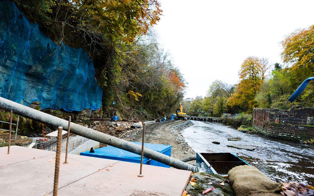 Fair-a-Far Weir Repairs